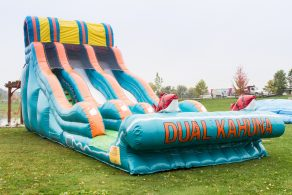 Dual Kahuna Slide Wet or Dry Slide