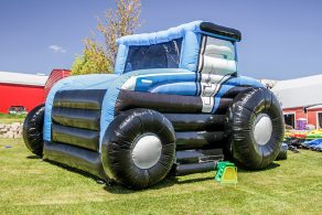 Tractor Bouncer - Blue