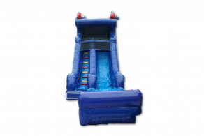 The Blue and Red Waterslide