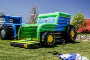 Tractor Bouncer - Green