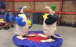 Kangaroo Sumo Wrestling Suits